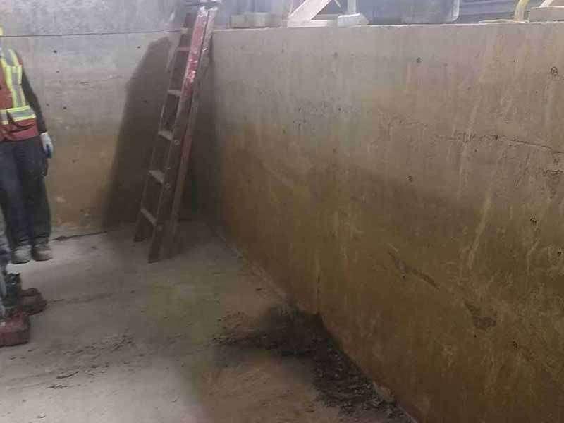 Evelator Pit Concrete Repair & Waterproofing