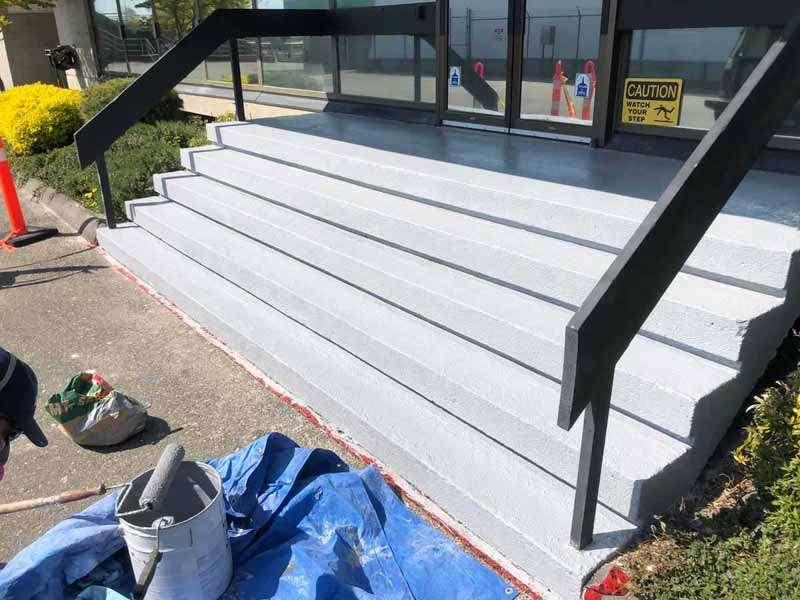 Waterproofing Membrane - Outdoor Stairs