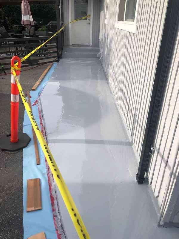 Waterproofing Membrane - Walkway